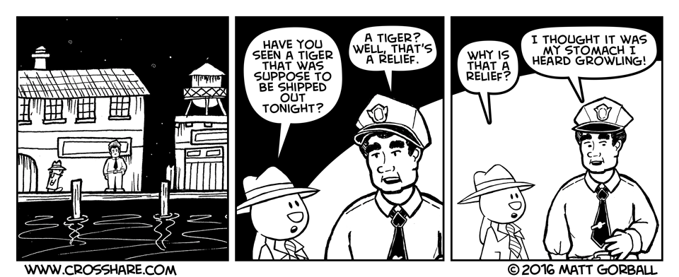 Have you seen a tiger?